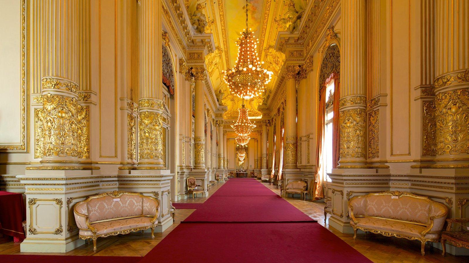 Teatro Colon which includes interior views and theater scenes