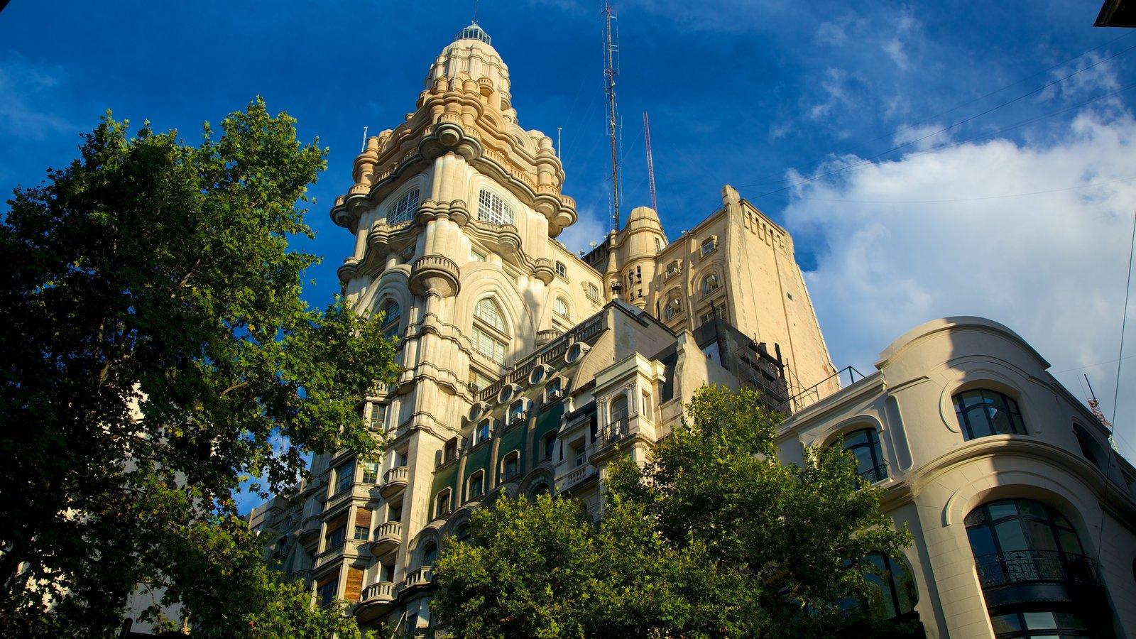 Edifício Barolo mostrando uma cidade e arquitetura de patrimônio