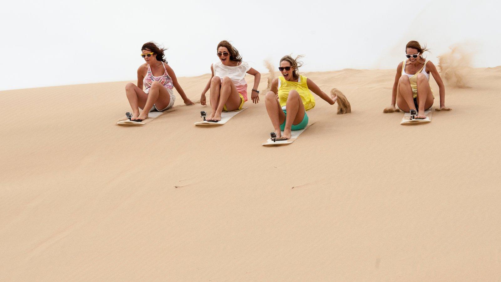 Johannesburg - Gauteng featuring desert views as well as a small group of people