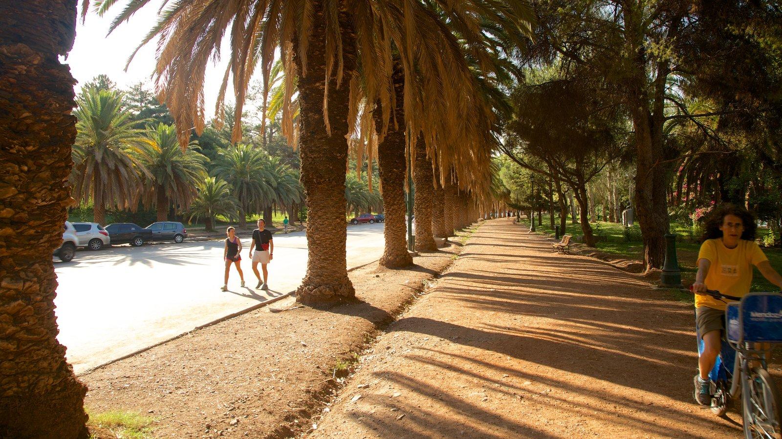 Parque General San Martin que inclui ciclismo