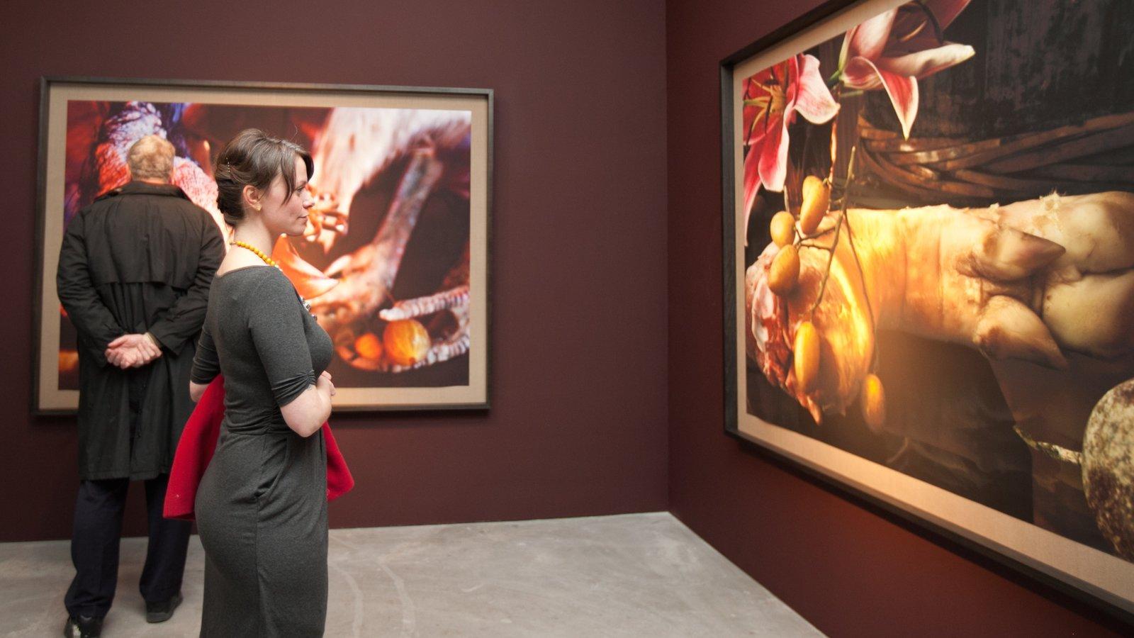 Omaha caracterizando arte e vistas internas