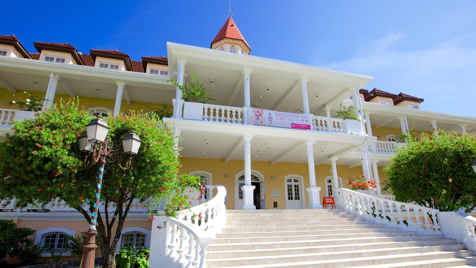 Prefeitura de Papeete caracterizando um edifício administrativo