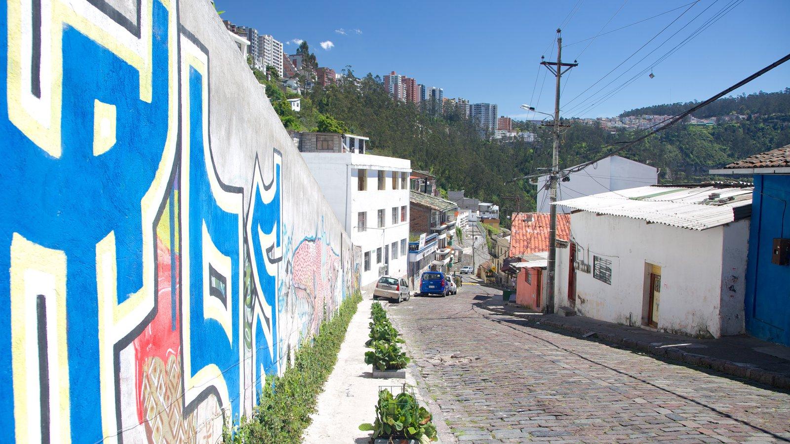 Guápulo ofreciendo escenas urbanas