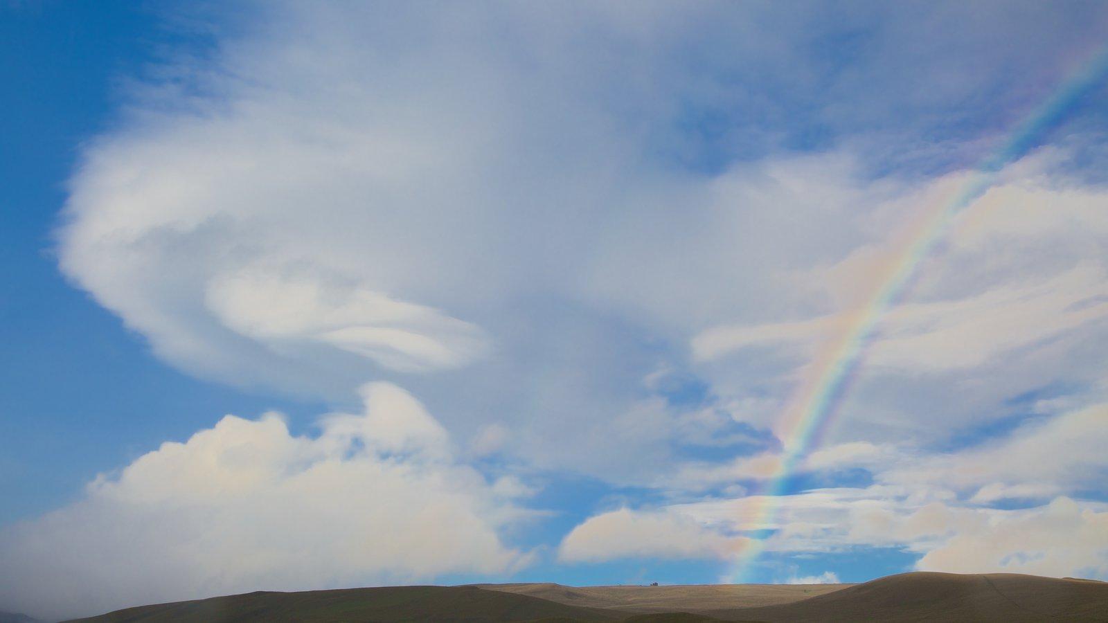 Parque Nacional de Cotopaxi mostrando vistas de paisajes