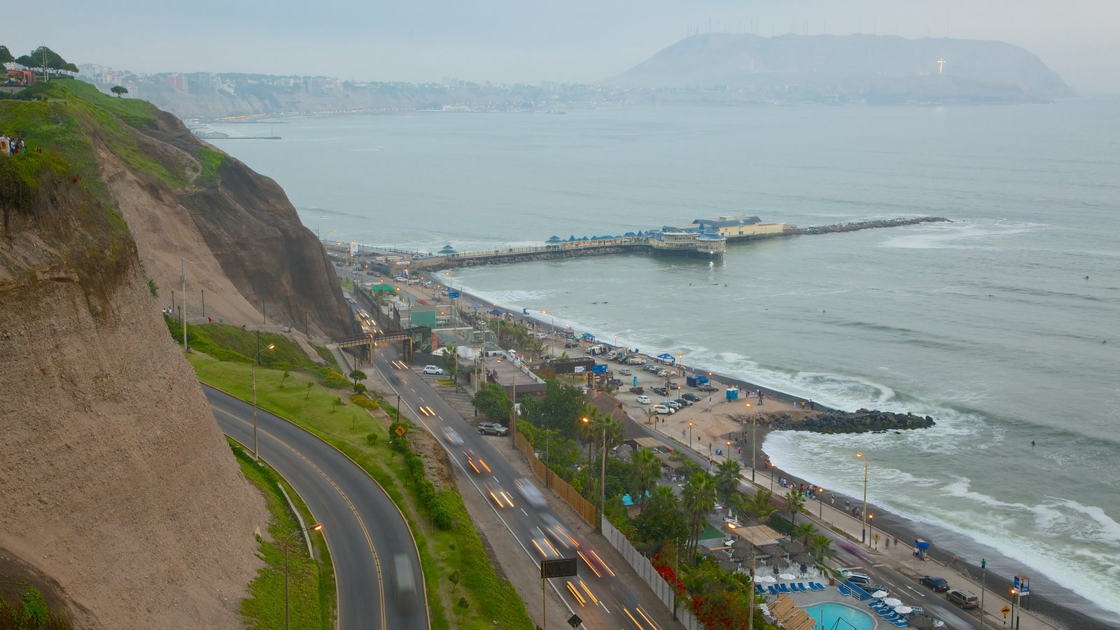 Miraflores featuring general coastal views