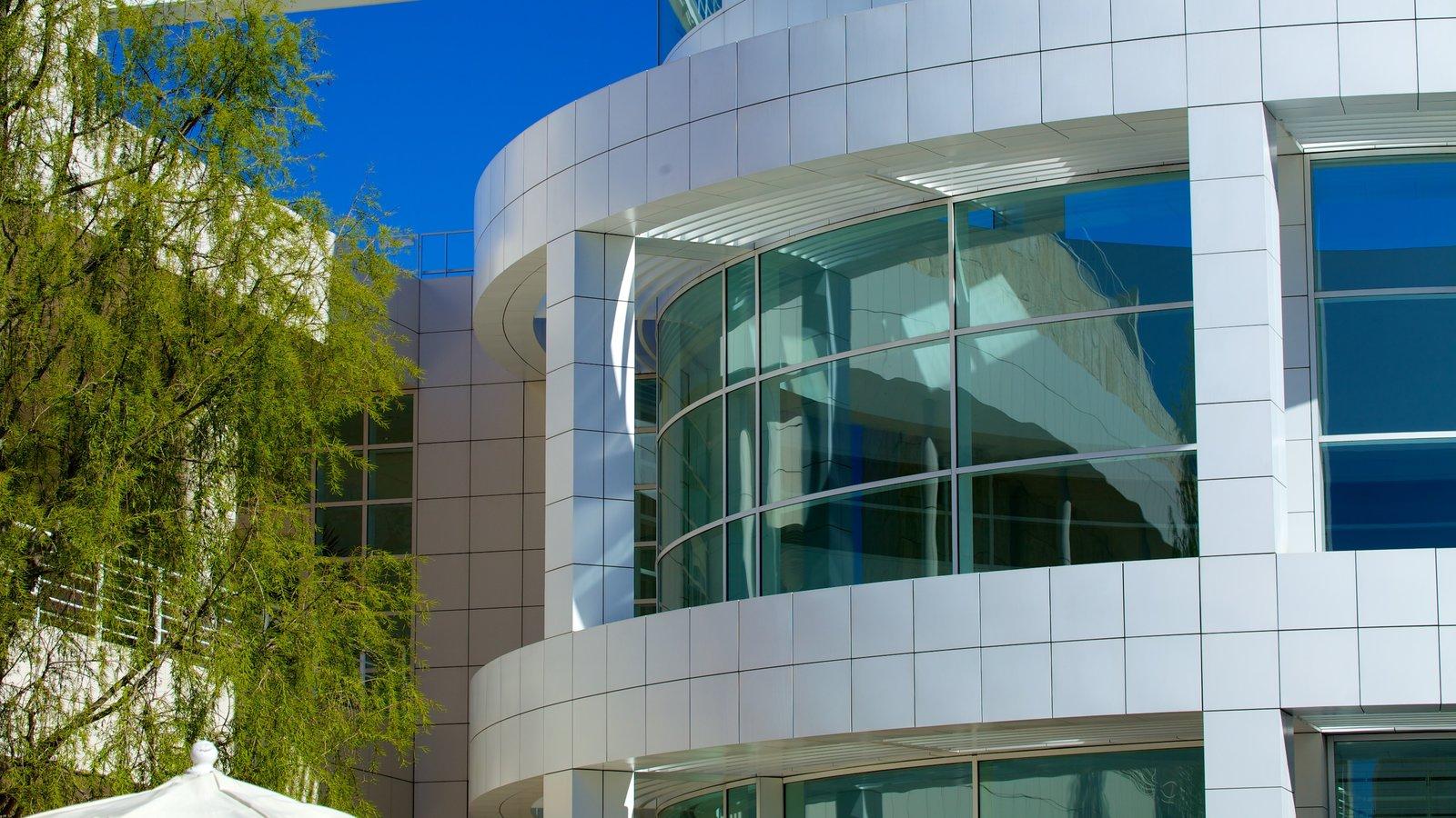 Centro Getty ofreciendo una ciudad, arquitectura moderna y dfc