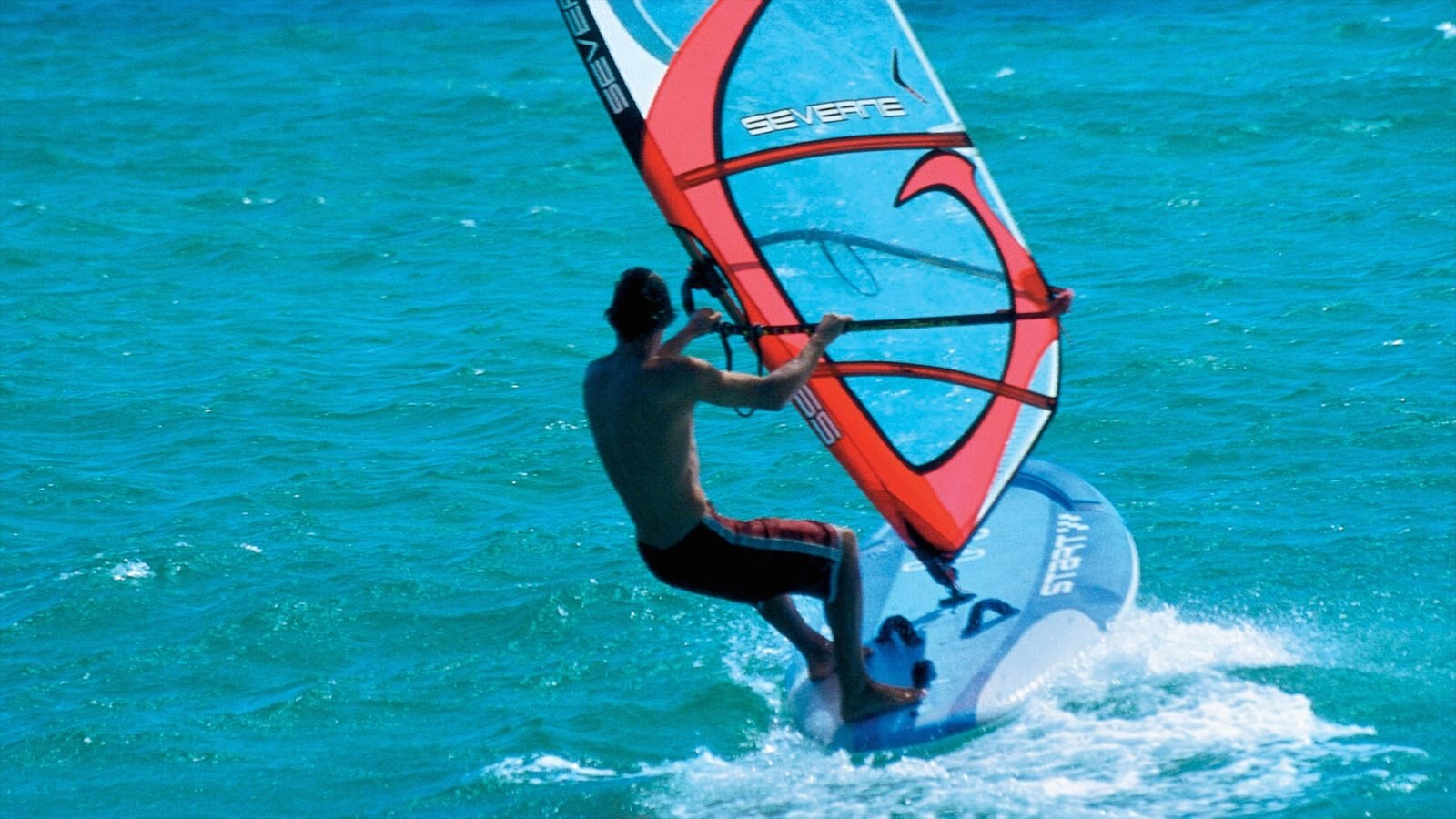 Margaret River Wine Region which includes windsurfing as well as an individual male