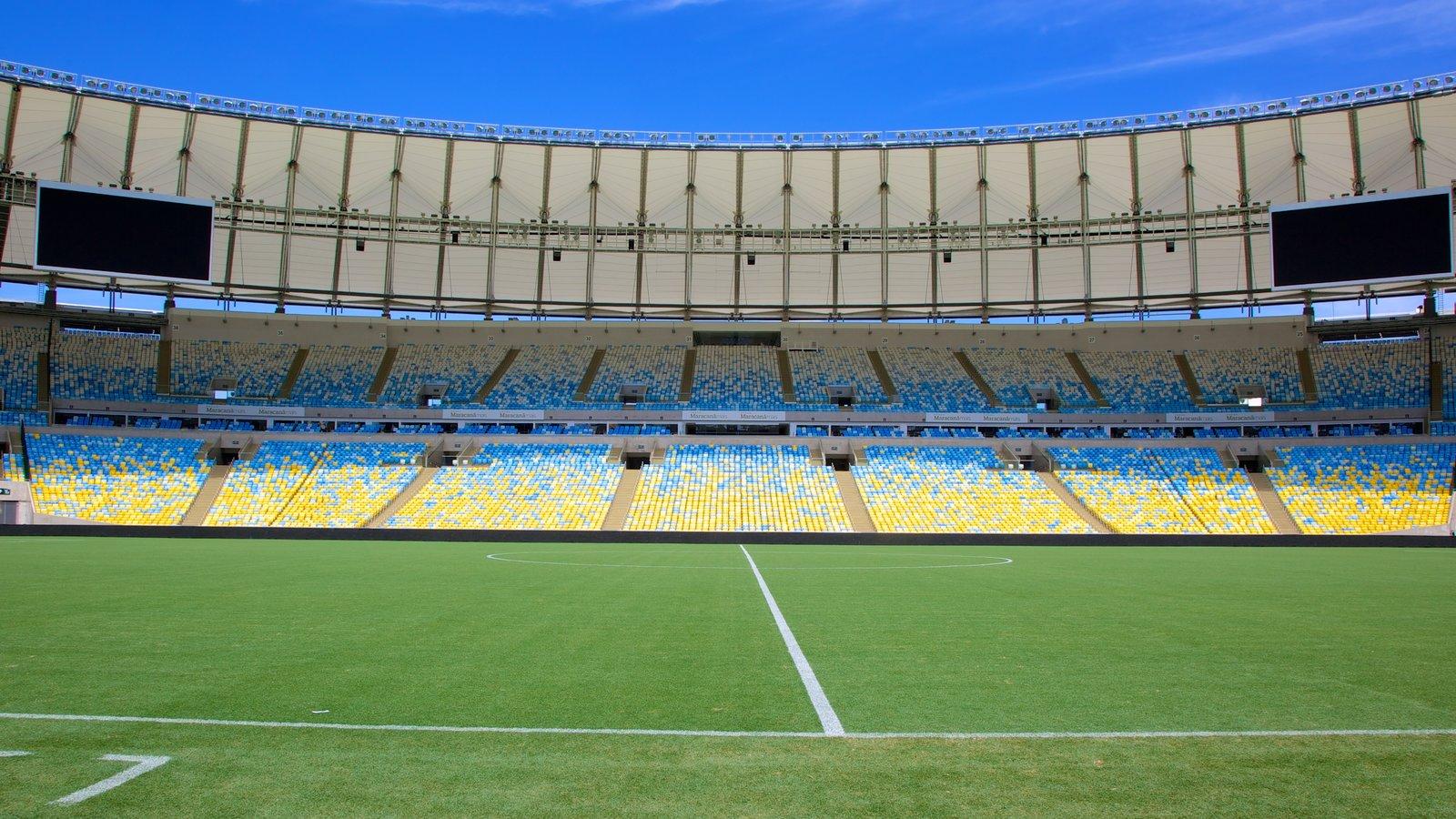 Estádio Mário Filho caracterizando uma cidade