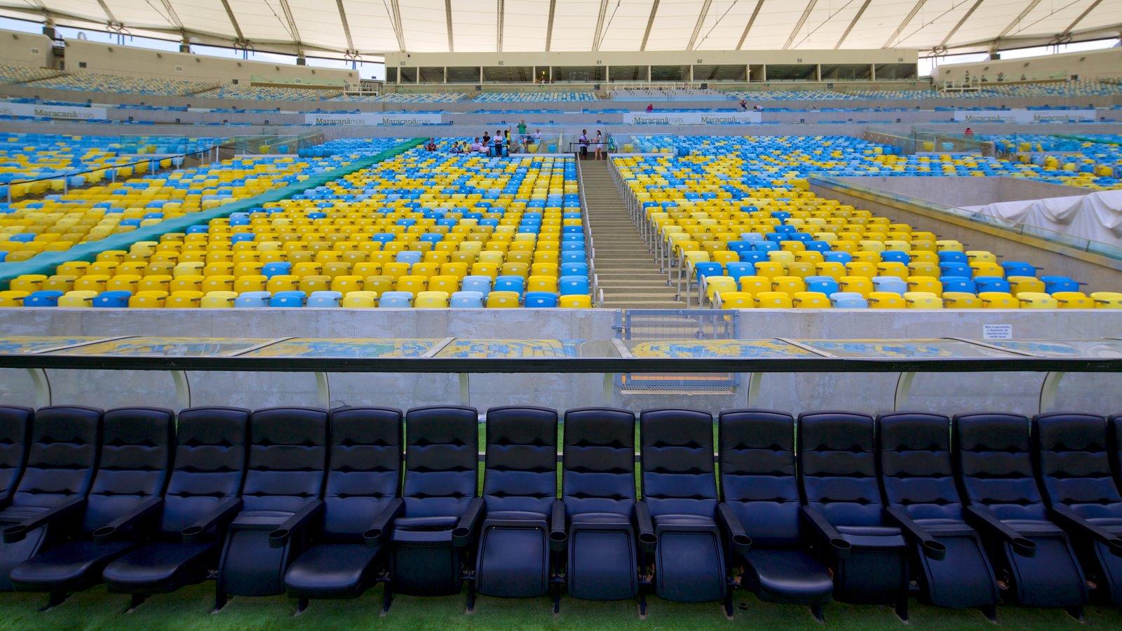 Estádio Mário Filho caracterizando arquitetura moderna