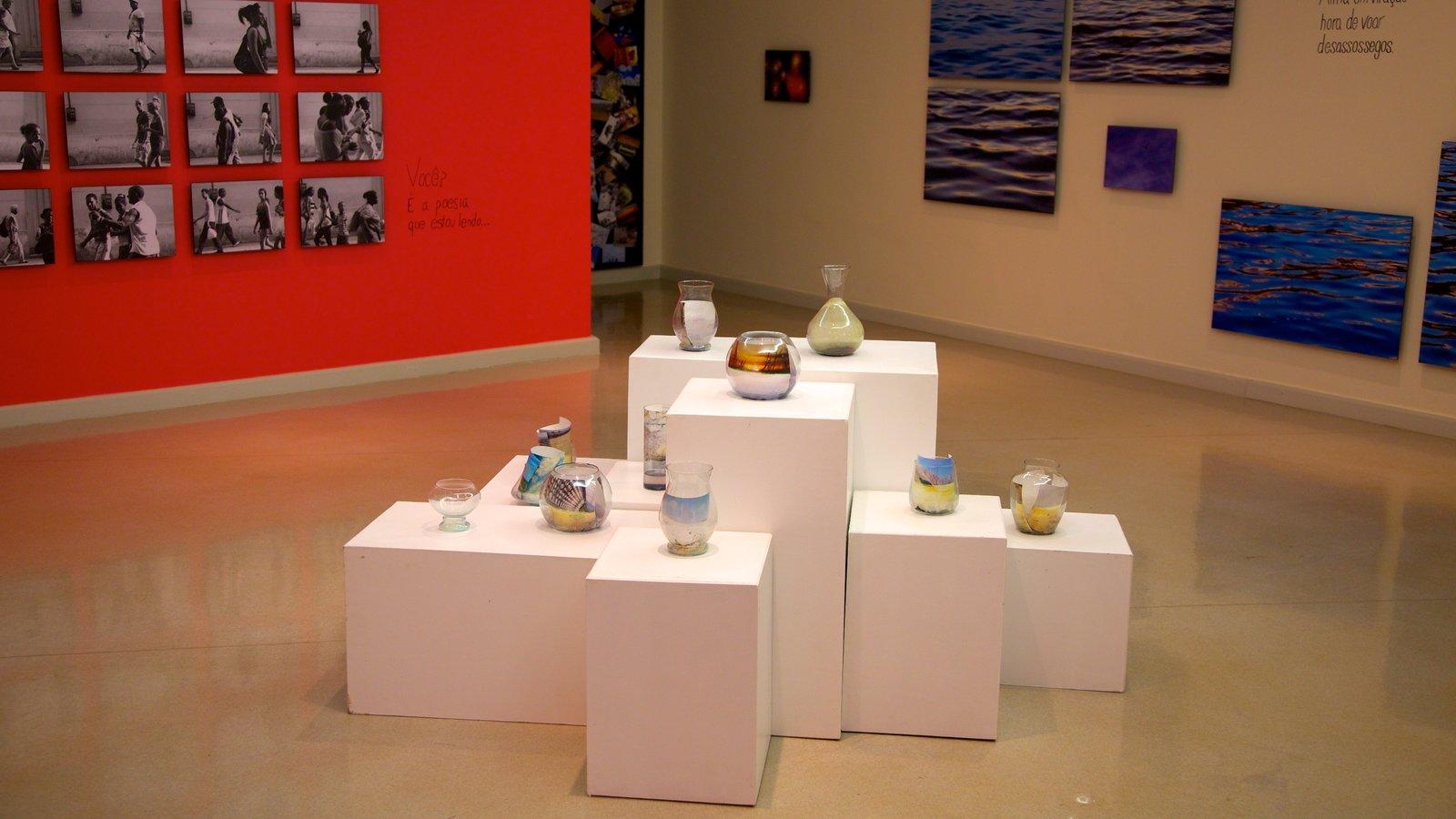 Ecomuseu que inclui vistas internas