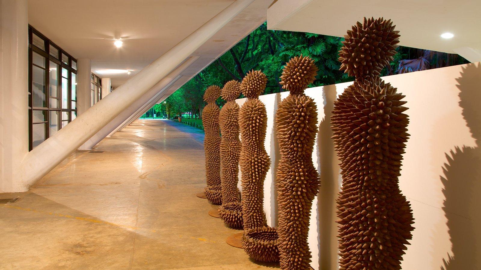 Parque do Ibirapuera mostrando arte, arte ao ar livre e vistas internas