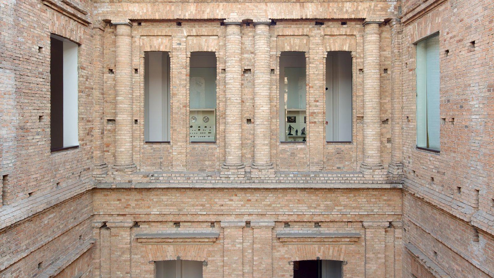 Pinacoteca do Estado caracterizando arquitetura de patrimônio