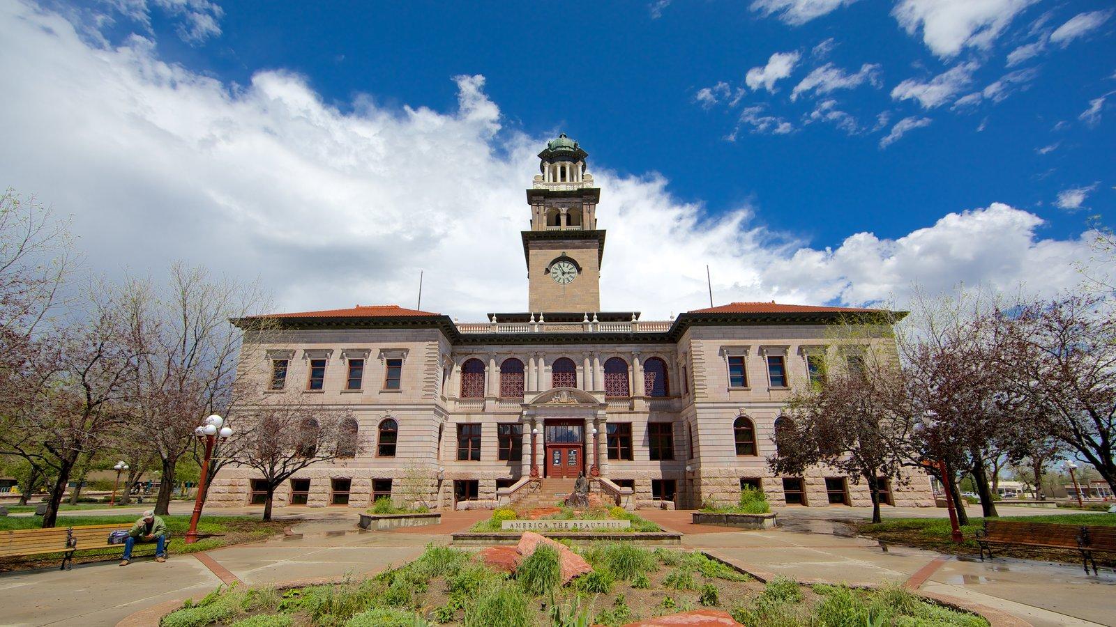 Colorado Springs caracterizando arquitetura de patrimônio