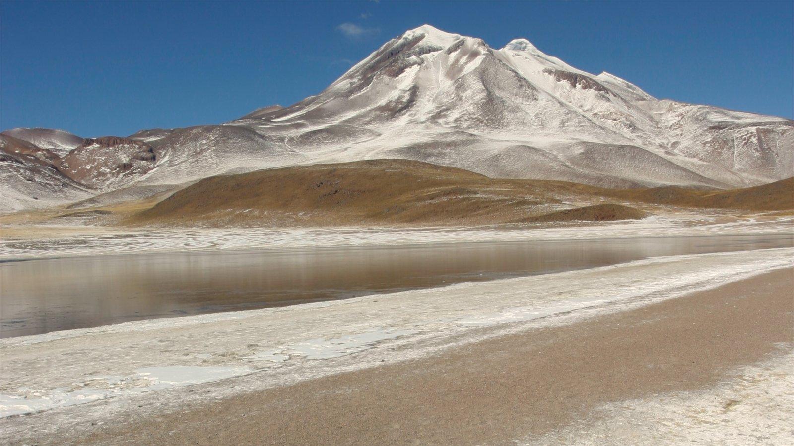 Chile mostrando neve e montanhas