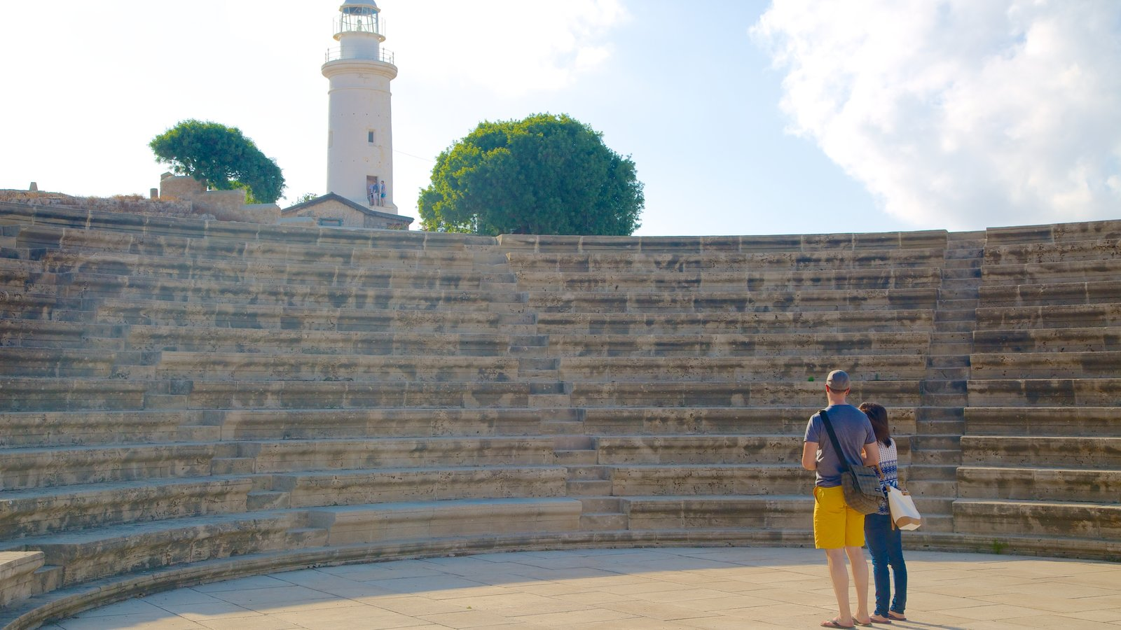 Paphos Archaeological Park which includes heritage architecture as well as a couple
