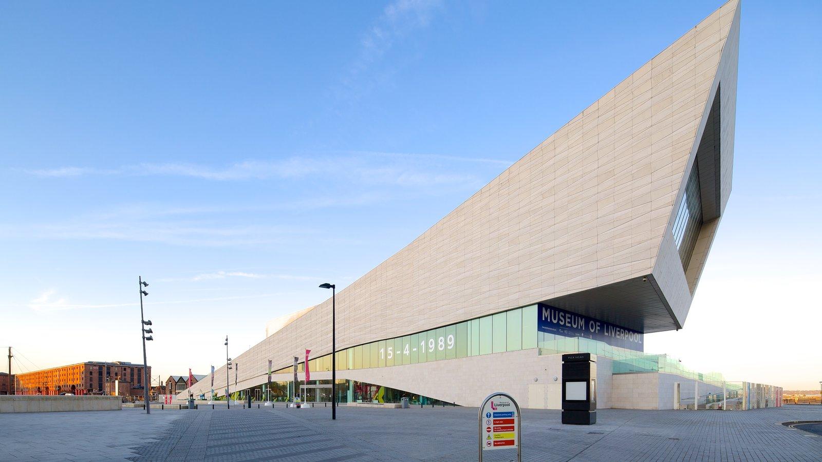 Museo de Liverpool mostrando arquitectura moderna