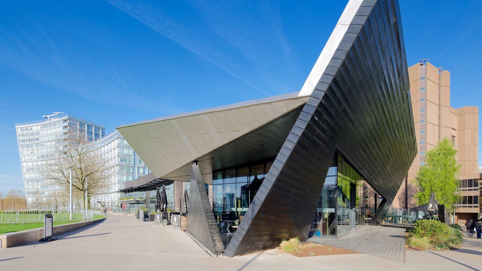 Liverpool ONE ofreciendo arquitectura moderna