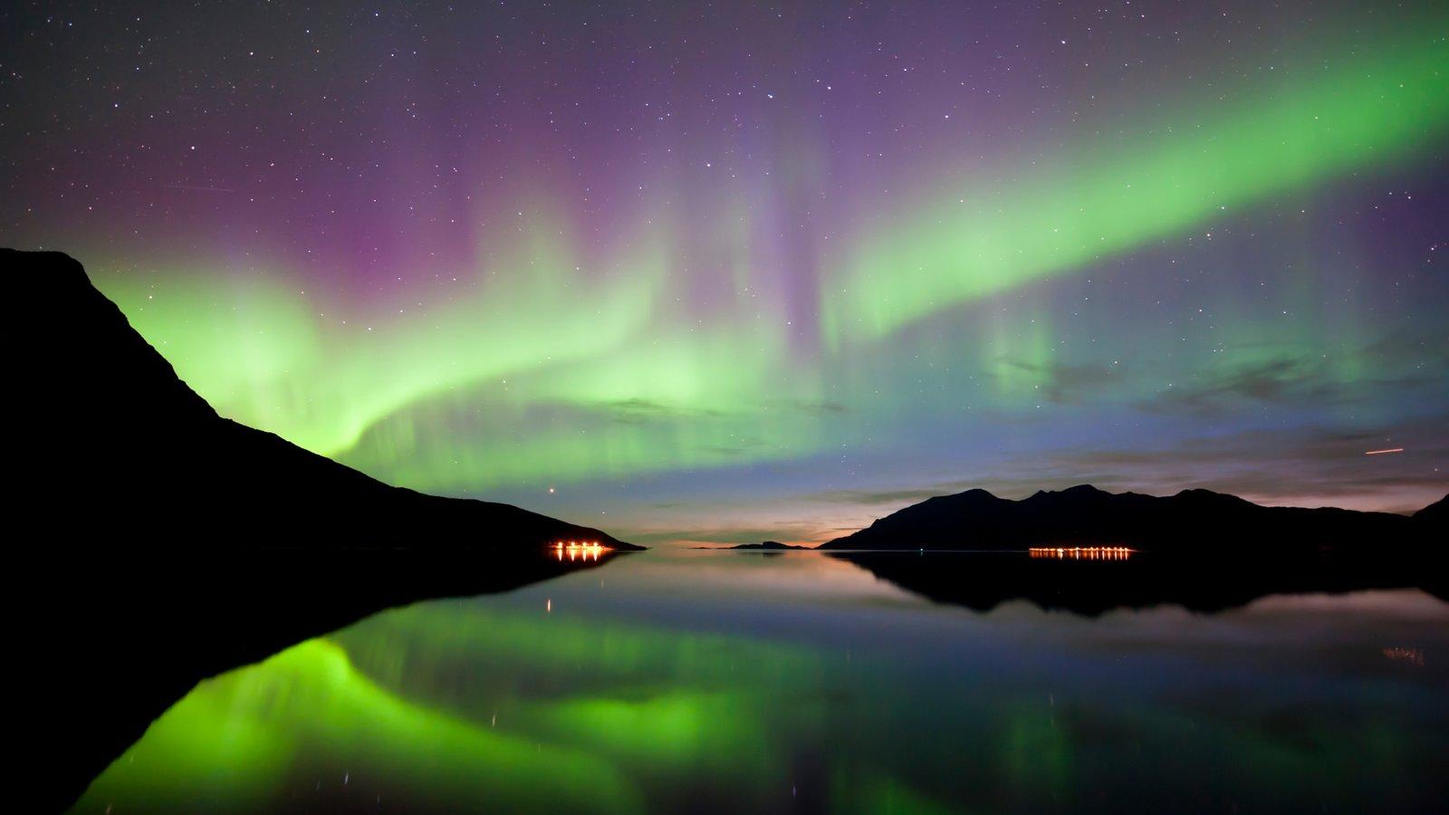 Tromso que inclui cenas noturnas e aurora boreal