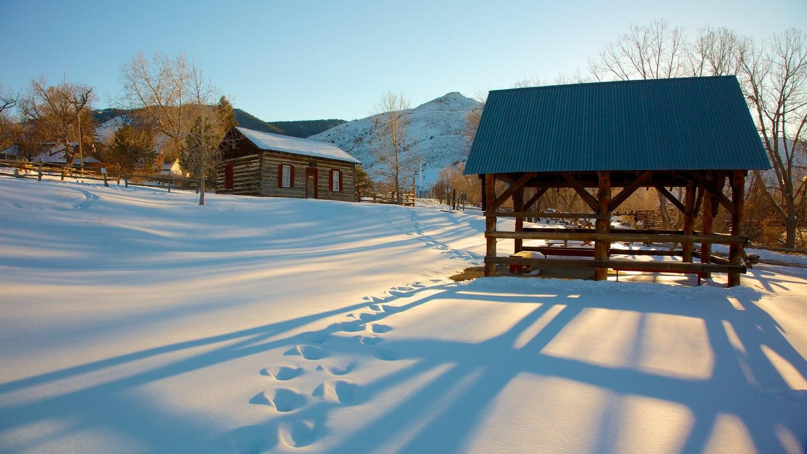 Colorado que inclui neve