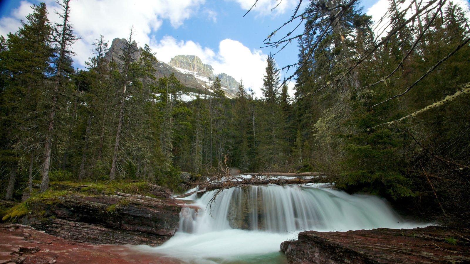 Parque Nacional de los Glaciares mostrando un río o arroyo