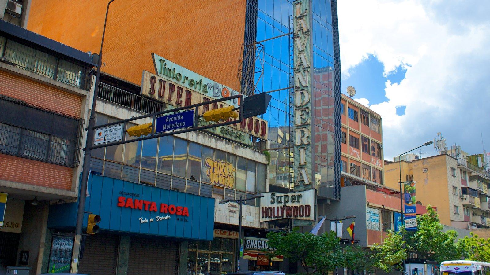 Caracas caracterizando uma cidade