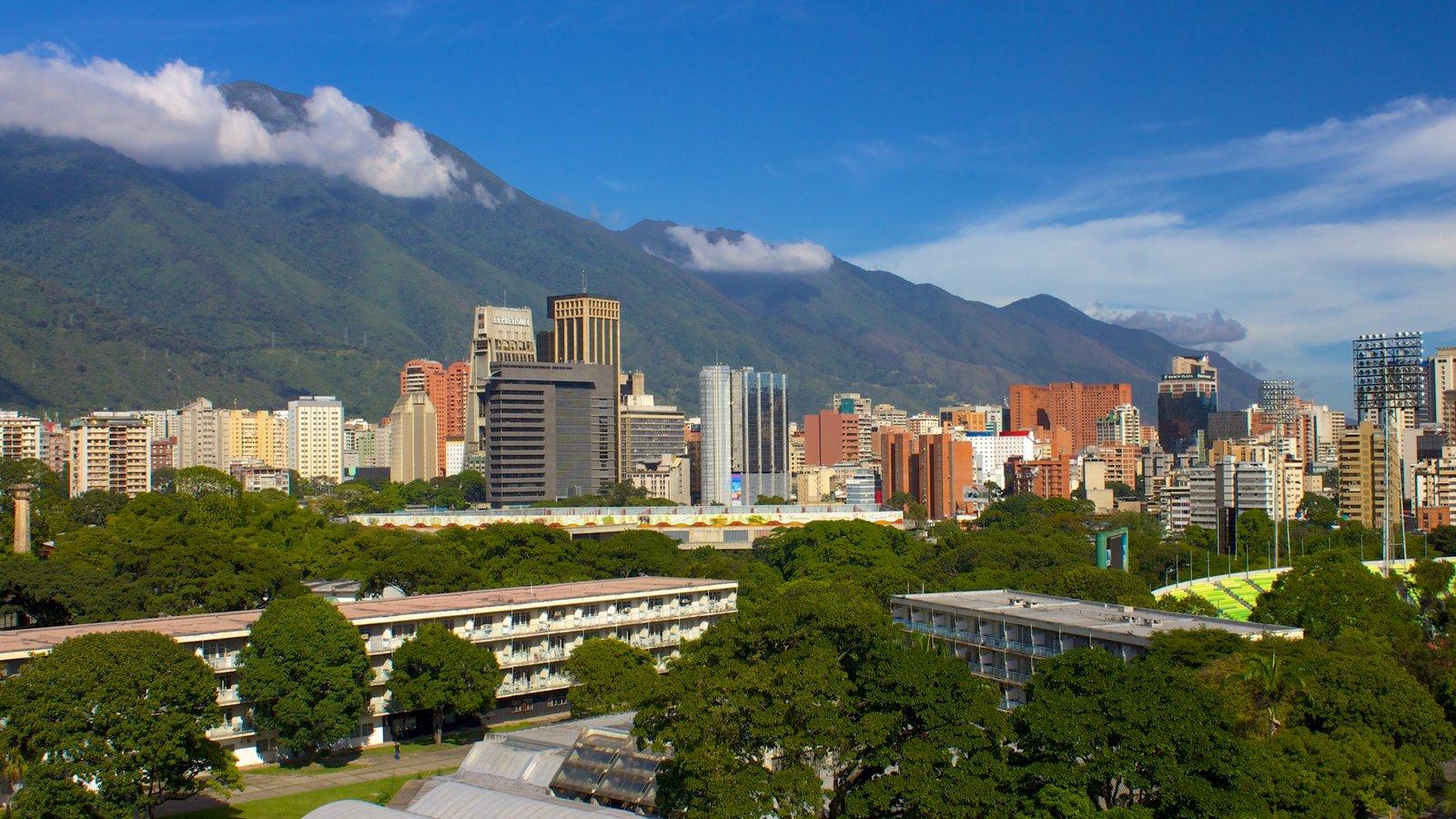 Universidade Central da Venezuela que inclui uma cidade