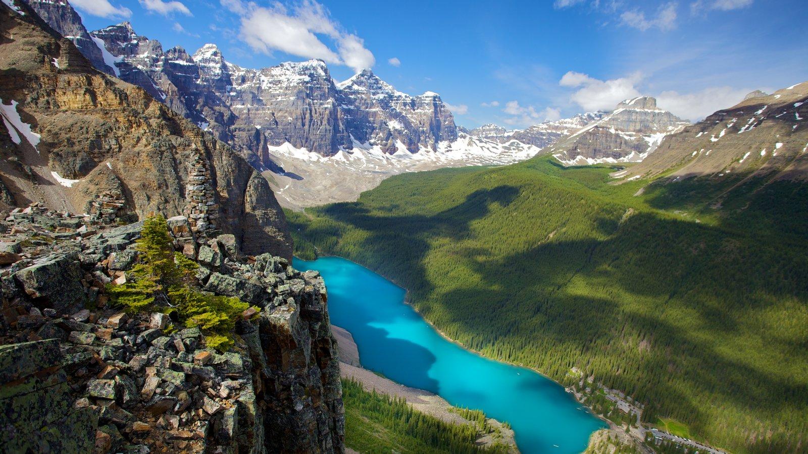 Canadá que inclui montanhas