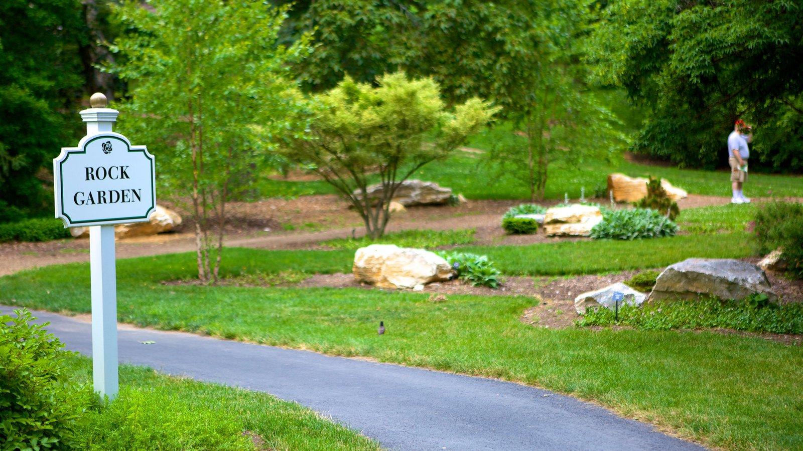 Hershey Gardens que inclui um jardim