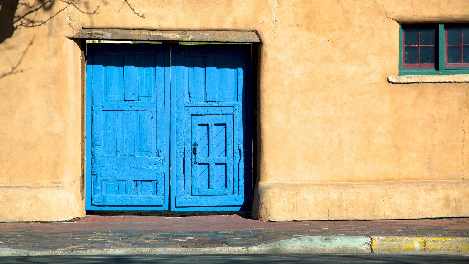 New Mexico Museum of Art ofreciendo escenas urbanas