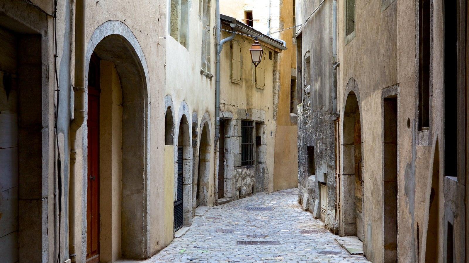 Chambery caracterizando uma casa e arquitetura de patrimônio