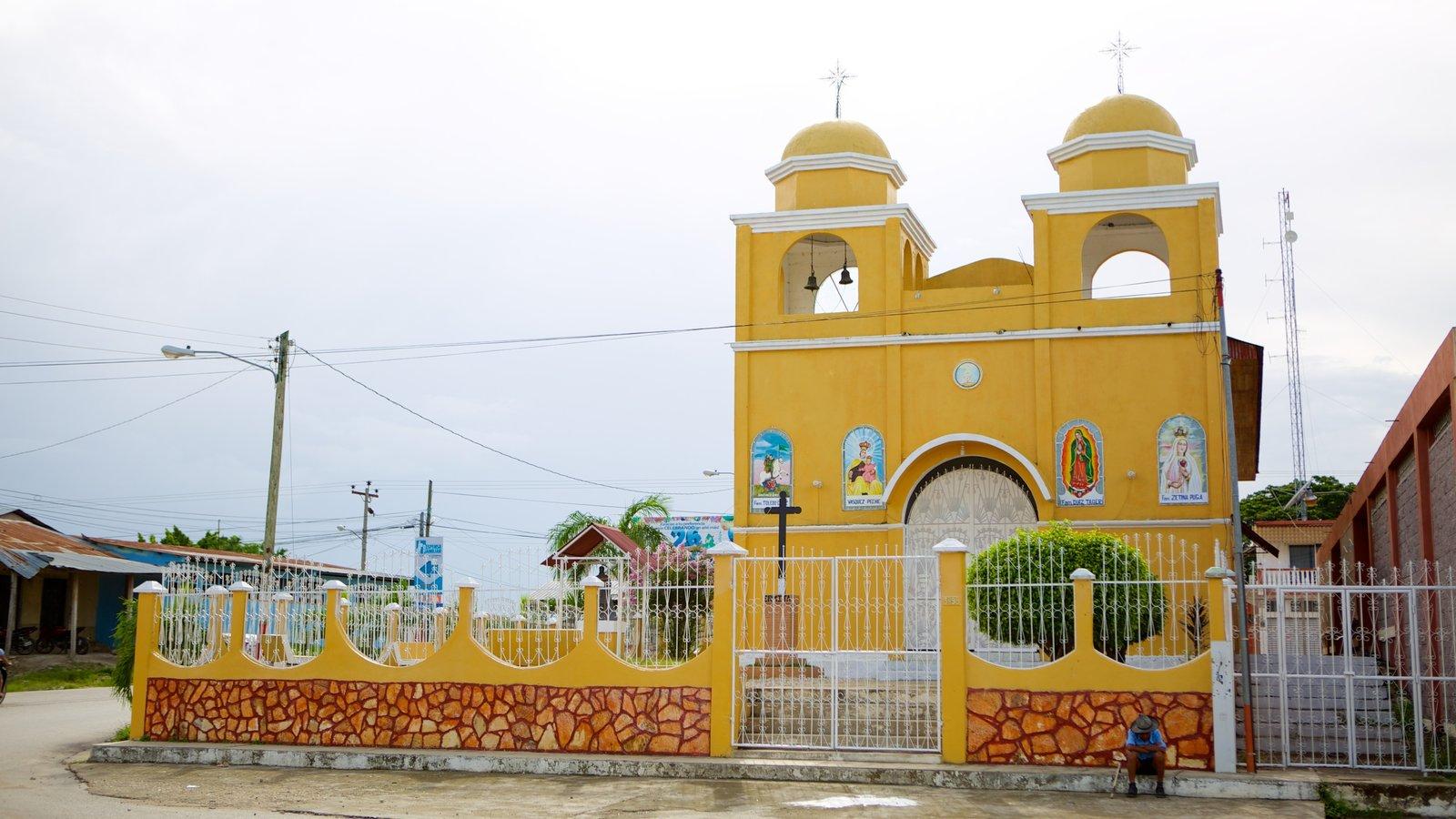 Santa Elena mostrando uma igreja ou catedral e aspectos religiosos