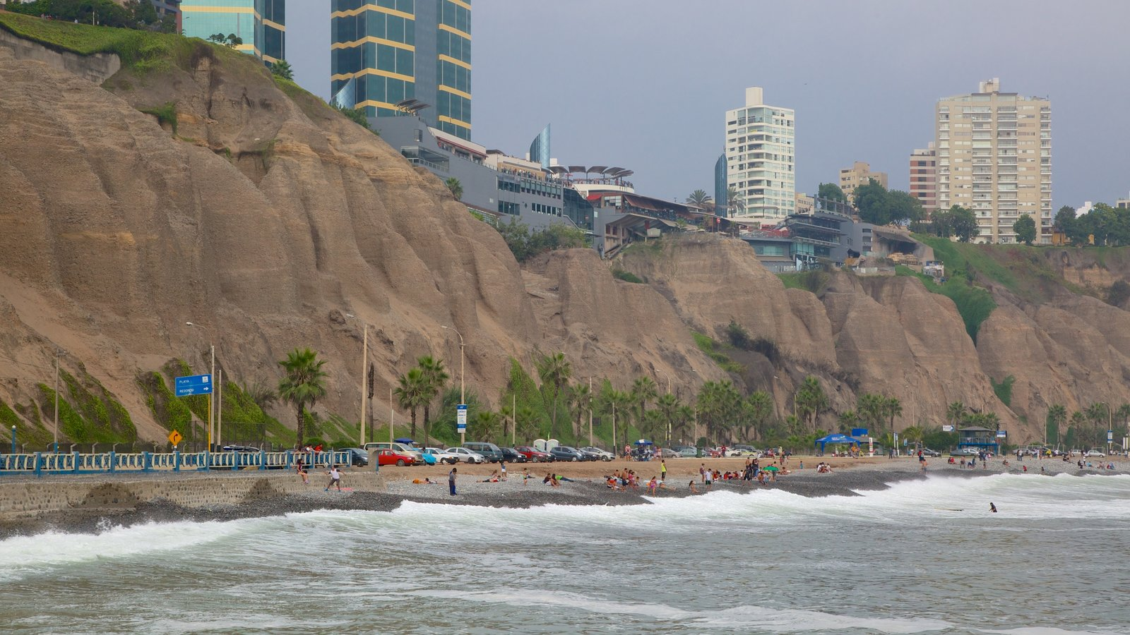 Lima showing rugged coastline