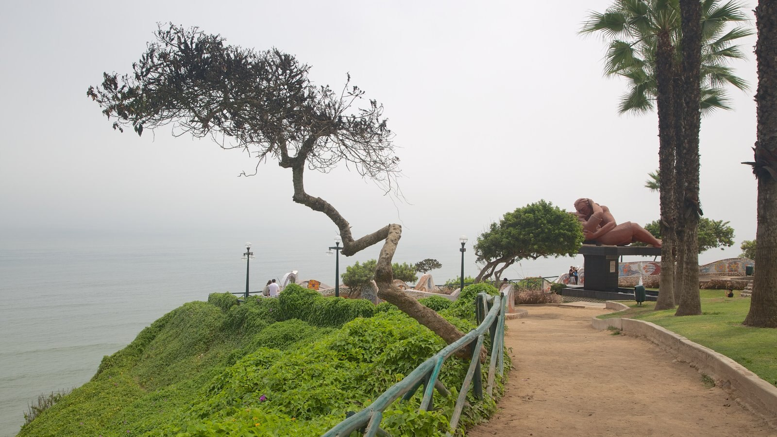 Lima which includes general coastal views and a garden
