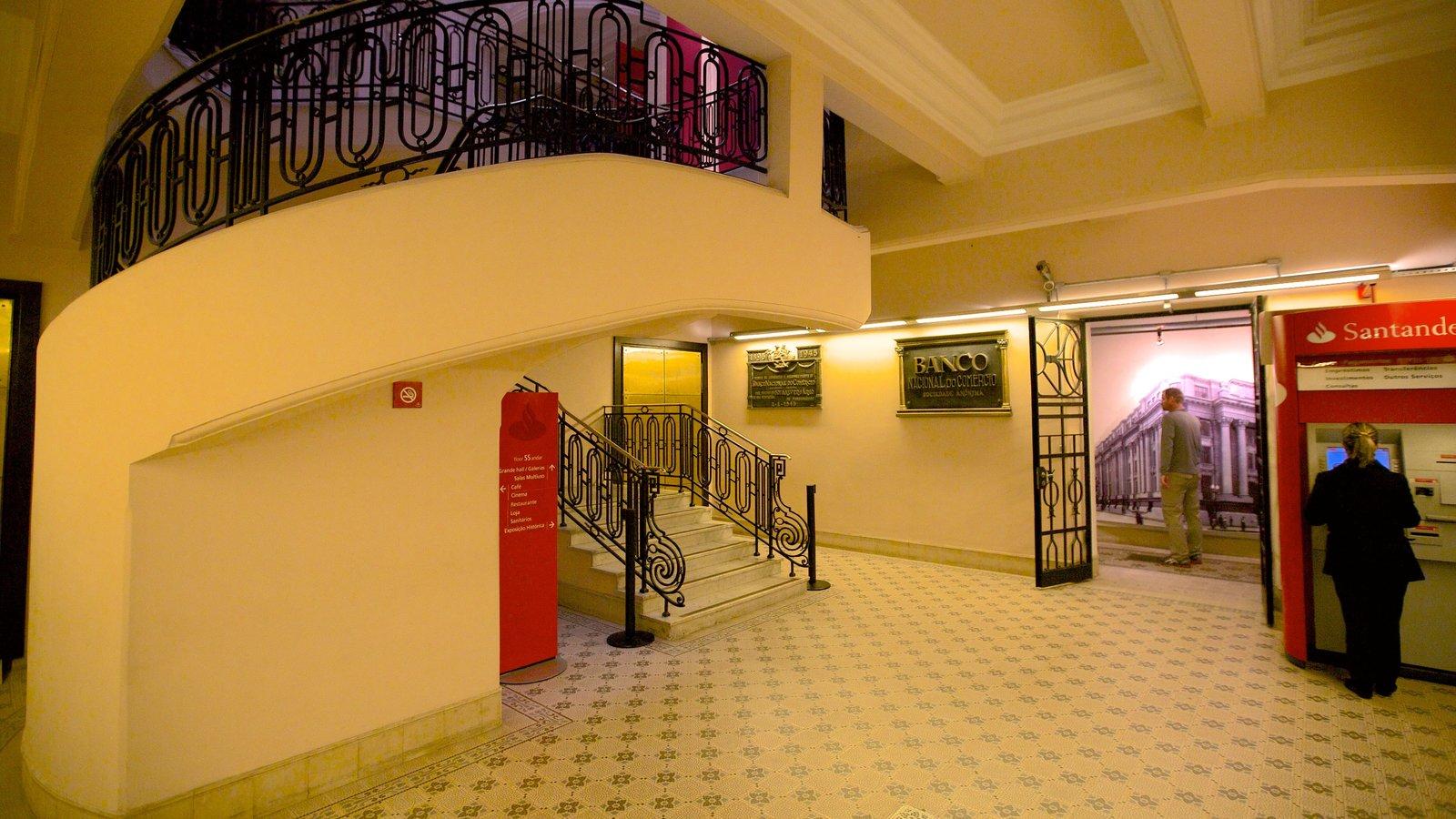Santander Cultural caracterizando vistas internas