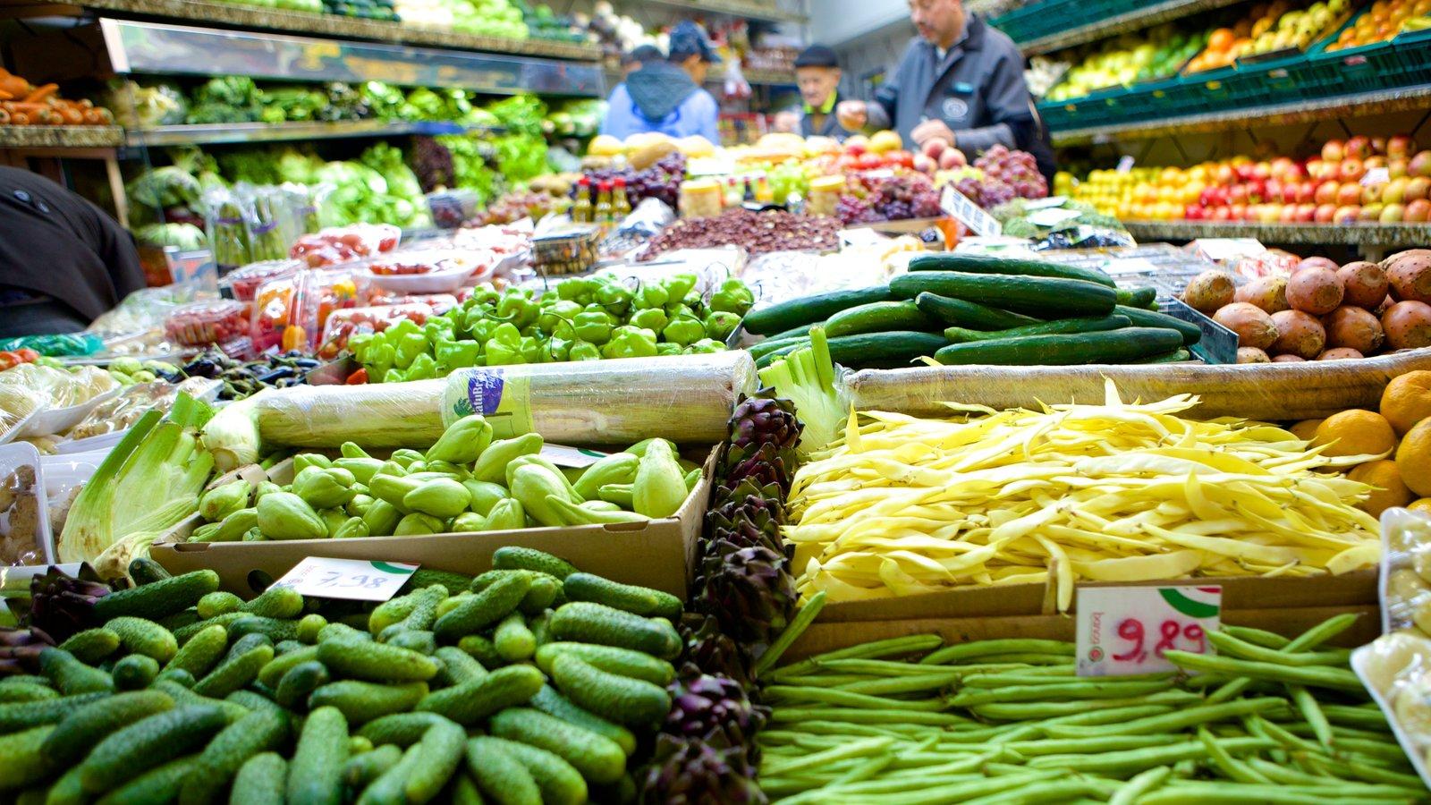 Mercado Público que inclui mercados