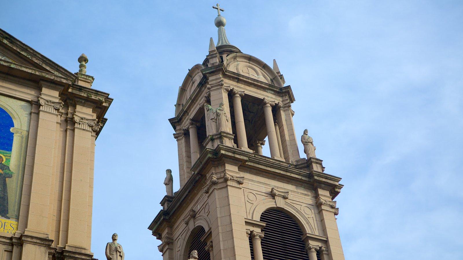 Catedral Metropolitana que inclui elementos religiosos, arquitetura de patrimônio e uma igreja ou catedral
