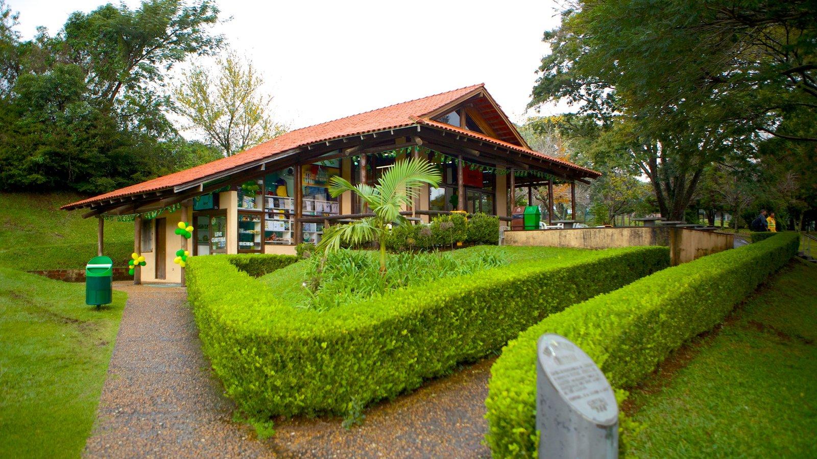 Parque Botânico de Curitiba caracterizando um parque
