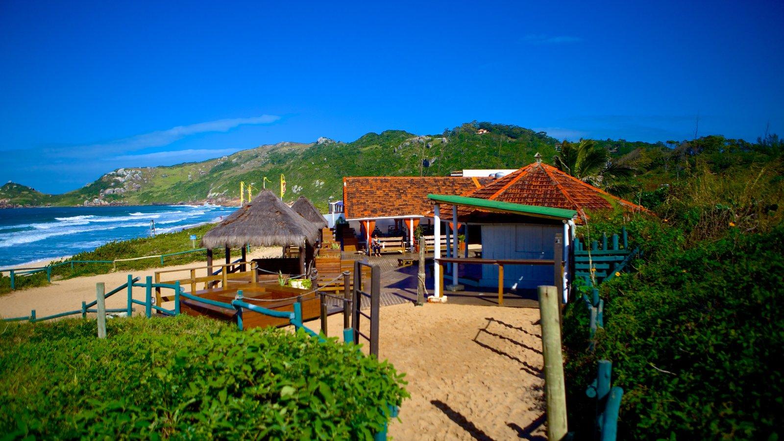 Praia Mole que inclui paisagens litorâneas
