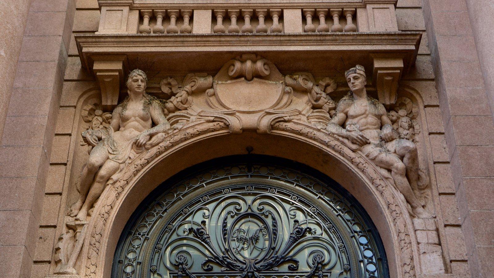Santander Cultural caracterizando arquitetura de patrimônio