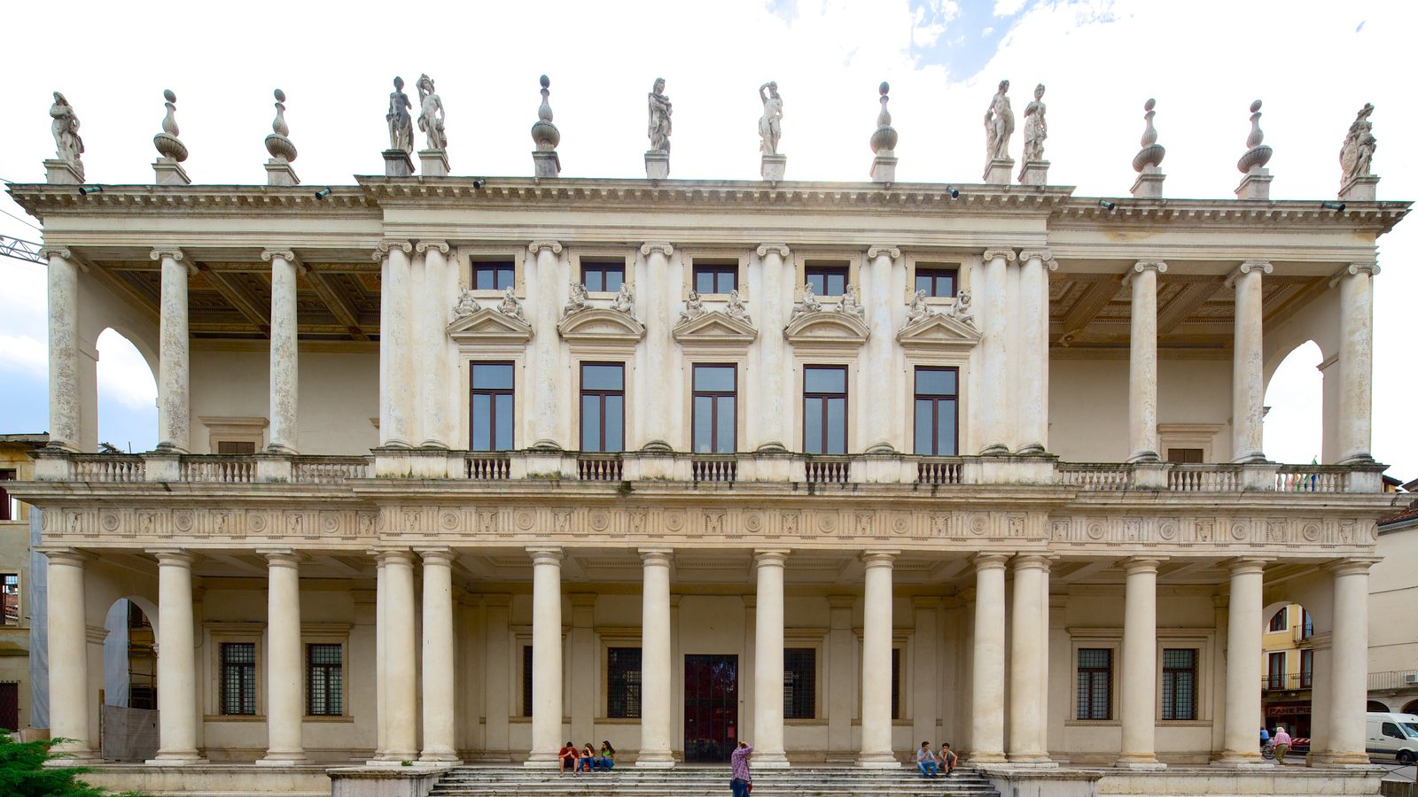 Palazzo Chiericati featuring heritage architecture and chateau or palace