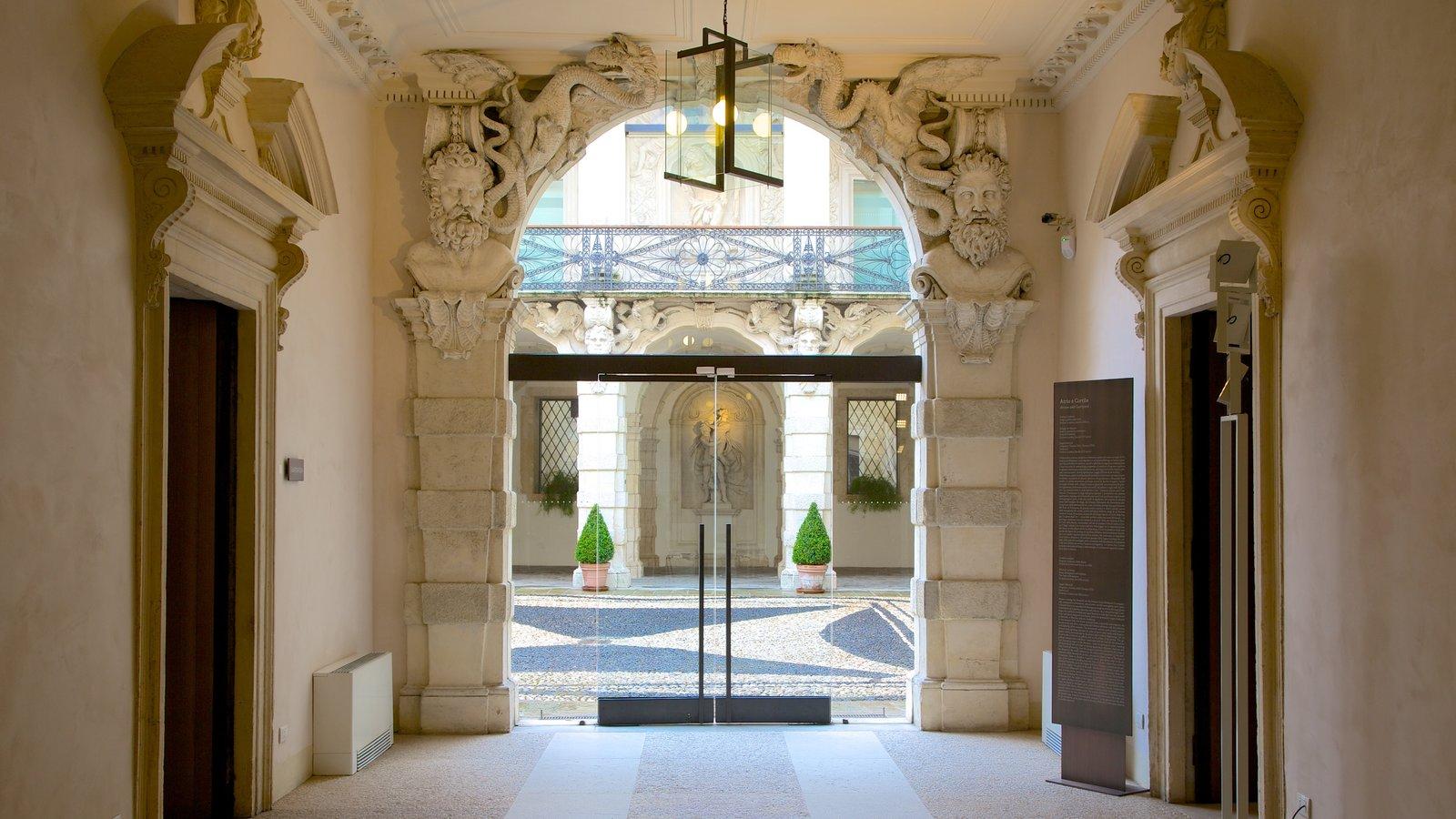 Gallerie di Palazzo Leoni Montanari featuring interior views and a house