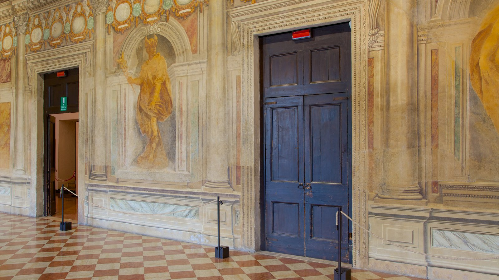 Vicenza which includes art, interior views and theater scenes