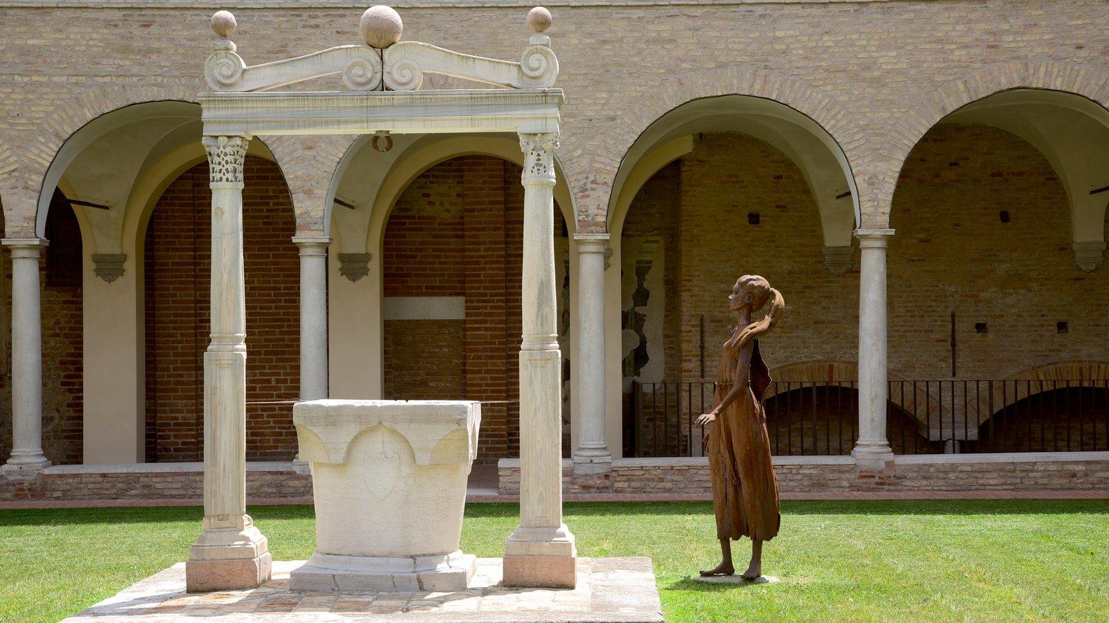 Dantes Museum featuring outdoor art