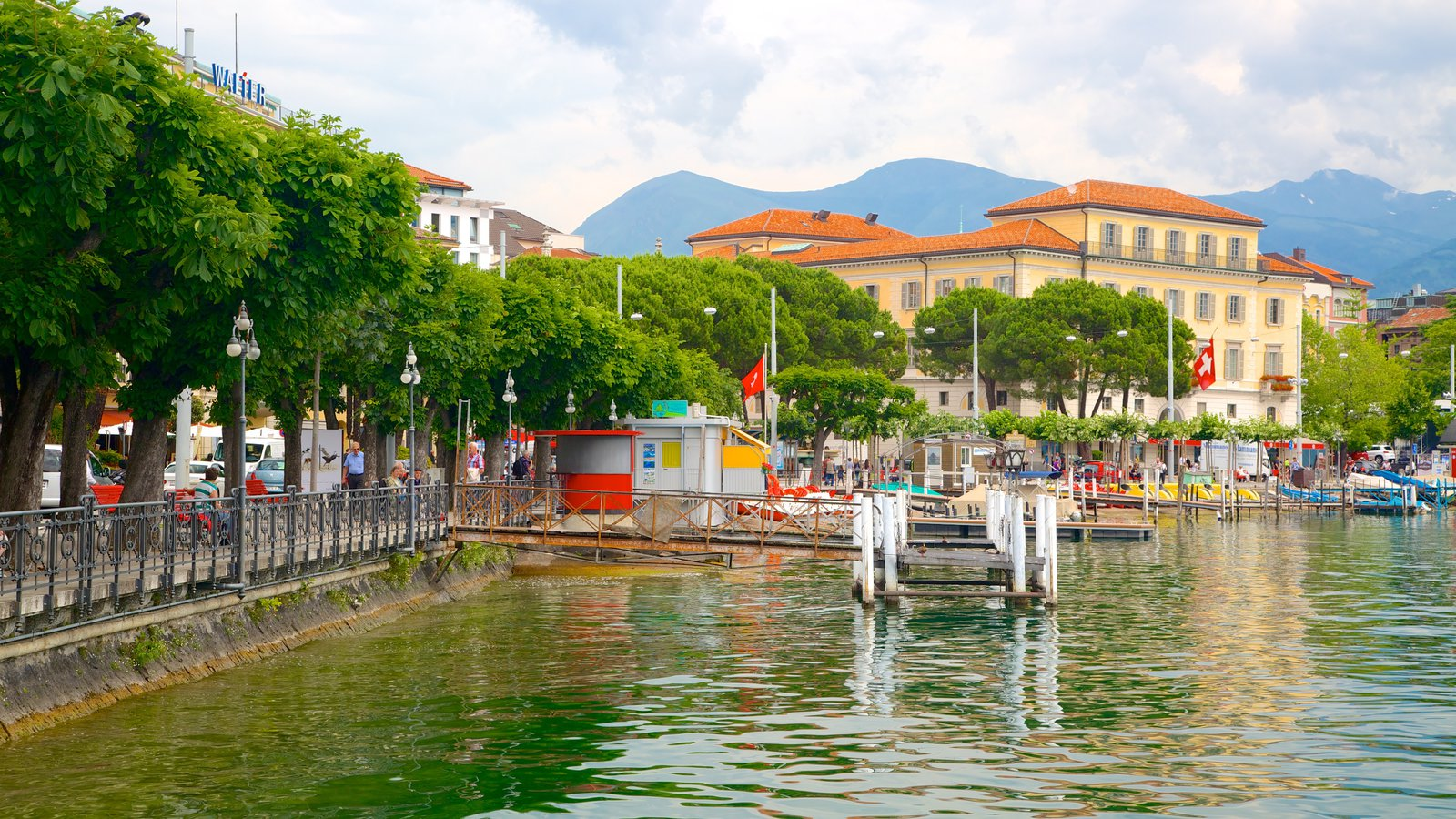 Image result for Lugano lake switzerland wallpaper