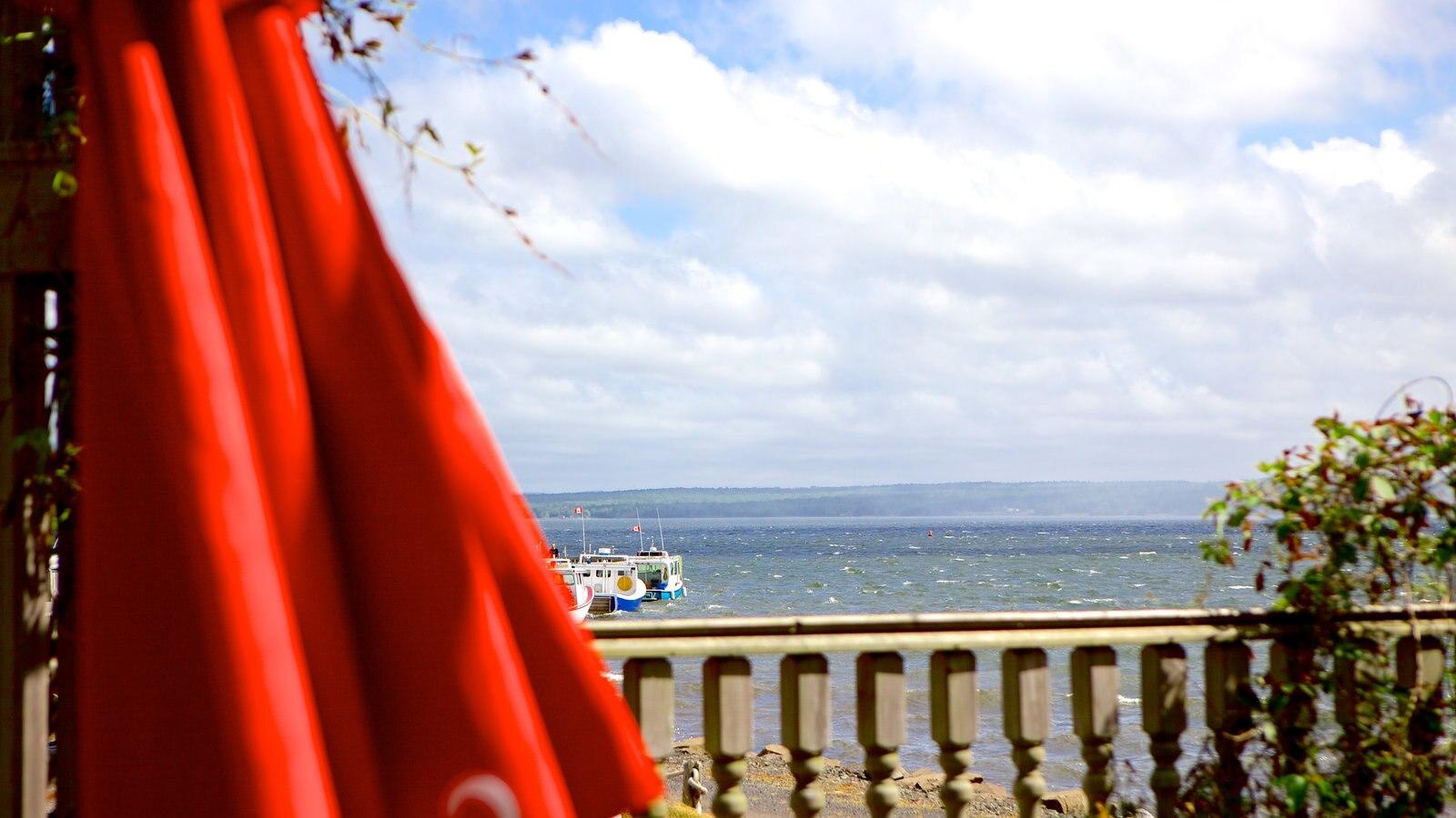 Pictou ofreciendo vistas generales de la costa