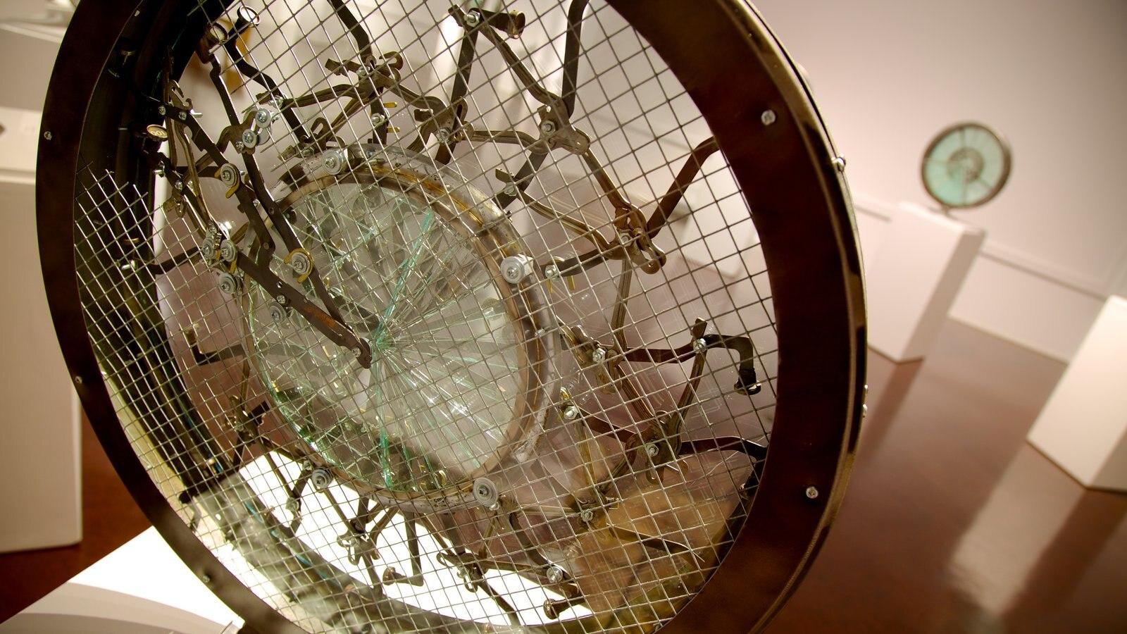 Kootenay Gallery featuring interior views and art