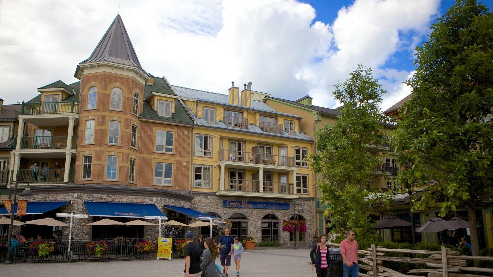 Blue Mountains caracterizando arquitetura de patrimônio e cenas de rua