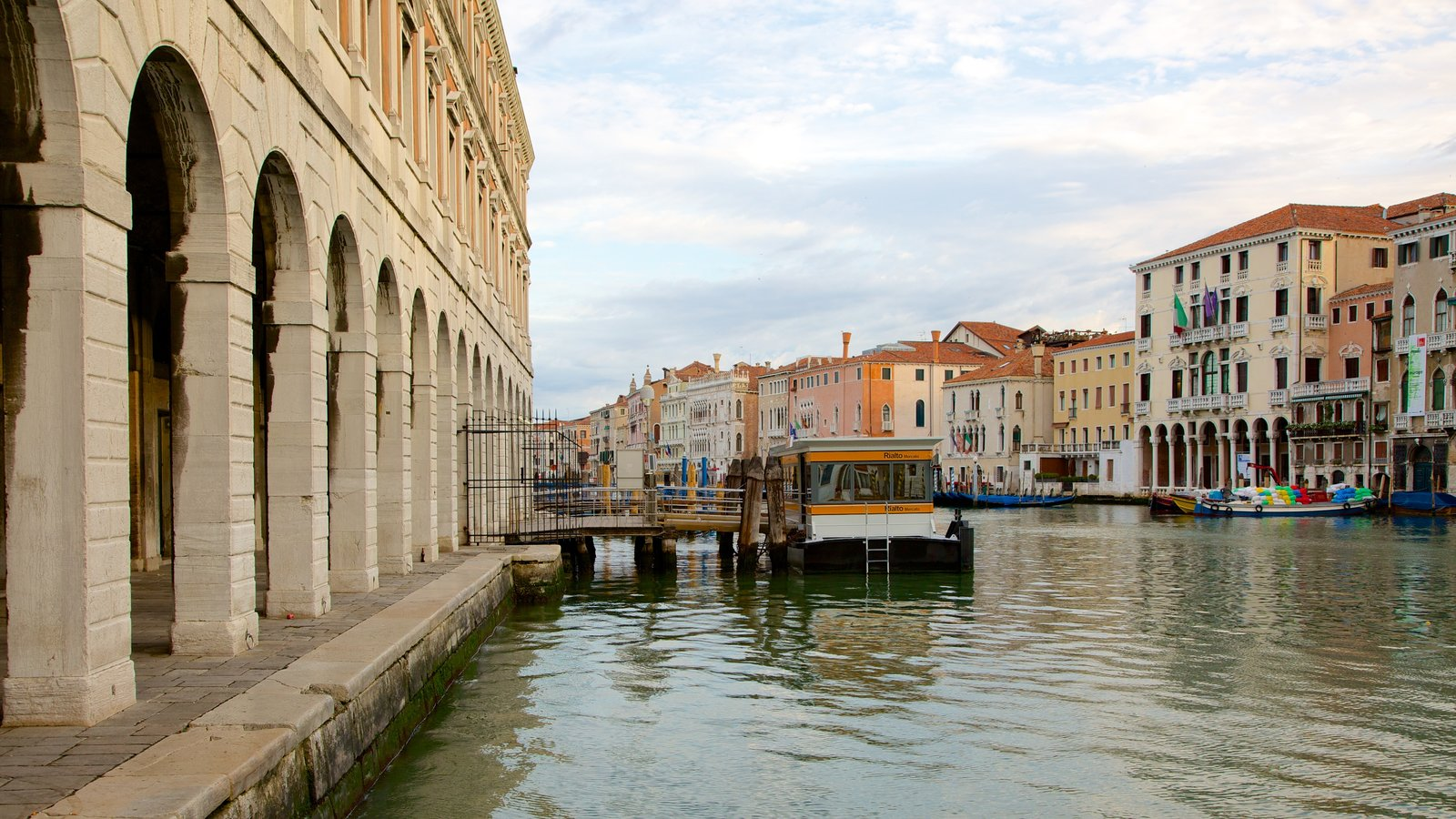 Grand Canal featuring heritage architecture and a river or creek
