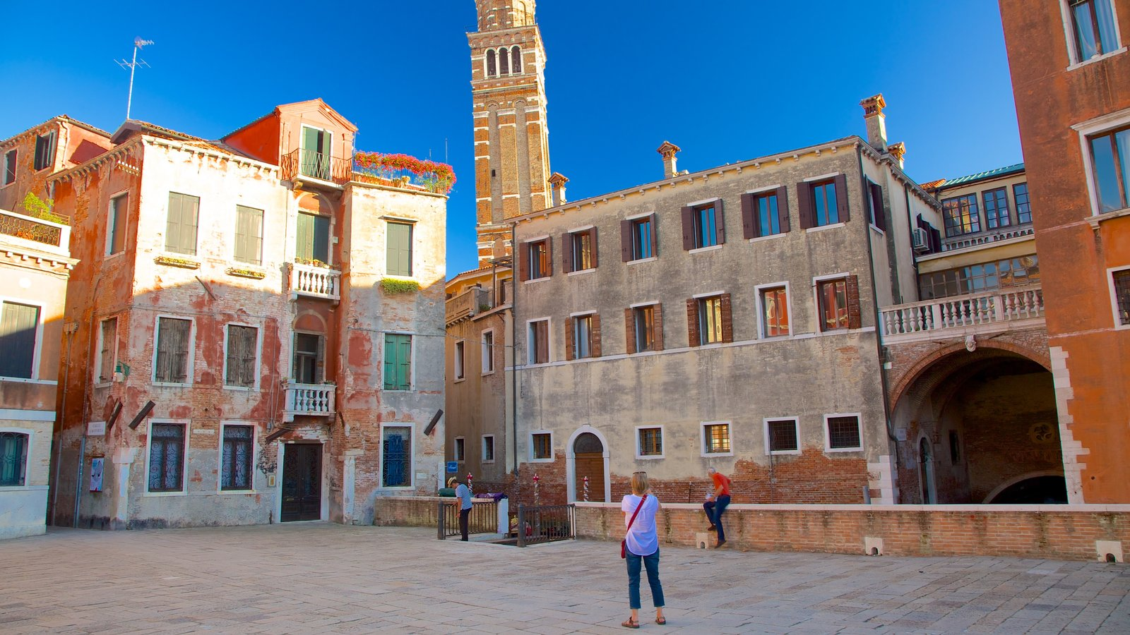 San Marco featuring a small town or village, heritage architecture and a square or plaza