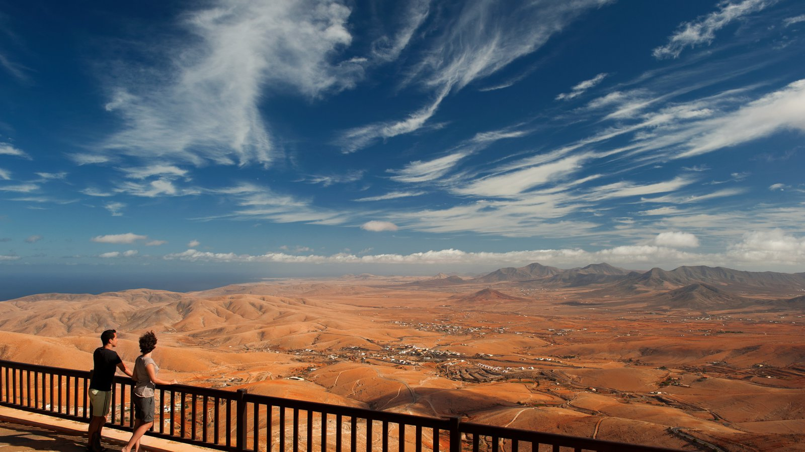 Fuerteventura featuring tranquil scenes, views and desert views